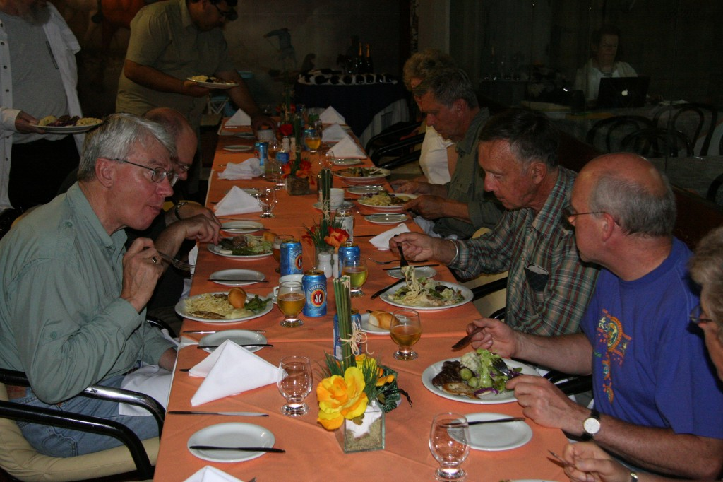 On the last night of the trip the Farewell Dinner is an opportunity to swap stories about favorite plants and memorable places.